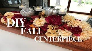 Download DIY FALL CENTERPIECE | Dollar Tree DIY | Fall home decor collab Video