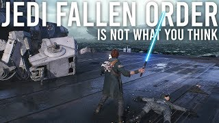 Download Jedi Fallen Order is not what you think it is - New Gameplay Video