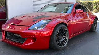 Download How I Crashed my 350z into the Wall... Video