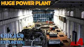 Download Huge Abandoned Chicago Power Plant Video