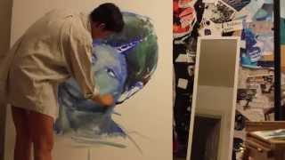 Download Self Portrait Painting Timelapse // Day One Video