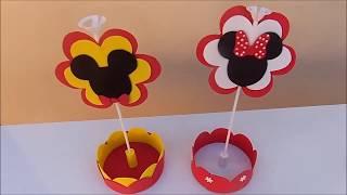 Download Centro de mesa do Mickey Video