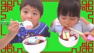 Download グミひもラーメン お菓子トッピングしてできあがり!!! こうくんねみちゃん Video