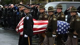 Download Procession through Tacoma honors fallen officer Video
