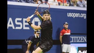 Download 2017 US Open: Tsonga vs. Shapovalov game highlights Video