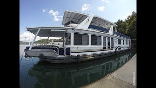 Download 2000 Stardust 16 x 77WB Houseboat For Sale on Norris Lake TN by YourNewBoat Video