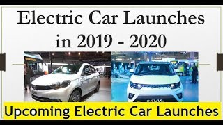 Download Top 7 Electric Car Launches from 2019 to 2020 in India Video