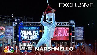 Download Marshmello Runs Stage 1 at the Las Vegas National Finals - American Ninja Warrior 2018 (Exclusive) Video