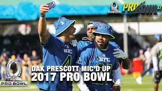 Download Dak Prescott Mic'd Up at the 2017 Pro Bowl Practice | NFL Video