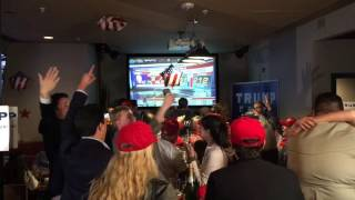Download Trump Michigan watch party reacts to Florida win Video