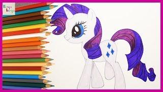 Download My Little Pony Rarity Nasıl Çizilir | My Little Pony Türkçe | Çizim Teknikleri | Boya Boya Video
