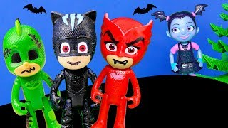 Download Paw Patrol and Scooby and Vampirina Solve the Case of the Spooky PJ Masks Toys Video