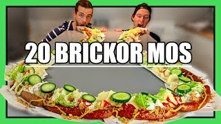 Download Vi äter en JÄTTE-Mosbricka [3.5 METER LÅNG!!!] Video