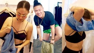 Download CREEPIN ON INANNA IN THE FITTING ROOM! - Vlog #612 Video