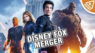 Download Why Marvel Won't Get the Fantastic Four in the Disney Fox Merger! (Nerdist News w/ Jessica Chobot) Video