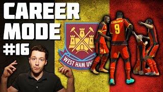 Download West Ham Career Mode #16 - BELGIUM WORLD CUP! - Fifa 14 Video