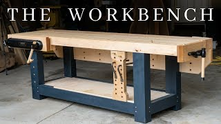 Download The PERFECT Woodworking Workbench // How To Build The Ultimate Hybrid Workholding Bench Video