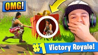 Download HIDING in a SUPPLY DROP to WIN Fortnite: Battle Royale! Video
