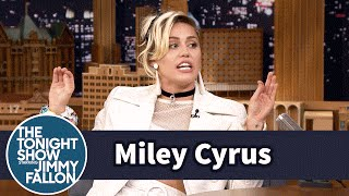 Download Miley Cyrus Swears the Bickering Between Blake Shelton and Adam Levine Is Real Video