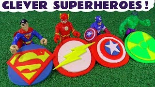 Download Superman The Flash and Avengers Hulk & Captain America Logos Thomas Play Doh Toy Story TT4U Video