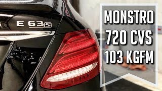 Download TESTE: Mercedes E63 S AMG COM 720 CVS BY PITSTOPSHOP & PIROVANI Video