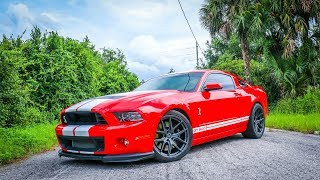 Download The New Wheels for my Shelby GT500 Look AMAZING! Video