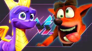 Download Spyro Vs. Crash - Which Is Better? | Versus Video
