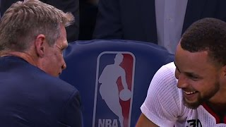 Download Steve Kerr in Awe of Steph Curry's Shooting | 01.28.17 Video