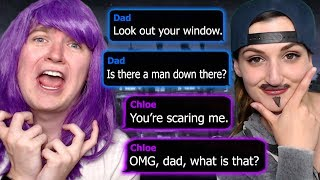 Download FUNNIEST GENDER SWAP ROLEPLAY EVER   The Watcher Text Story (Part 1) Video