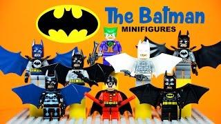 Download LEGO Batman Gallery of Variants KnockOff Minifigures Robin & Joker Video