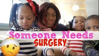 Download SOMEONE NEEDS SURGERY  DAY IN THE LIFE OF A MOM OF 7! Video
