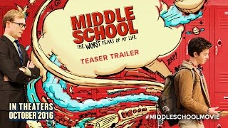 Download MIDDLE SCHOOL: The Worst Years of My Life - Teaser Movie Trailer HD Video