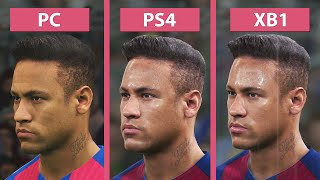 Download PES 2017 | Pro Evolution Soccer 2017 – PC vs. PS4 vs. Xbox One Graphics Comparison Video