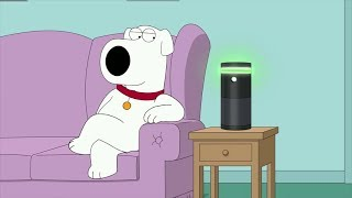Download Brian Falls in Love With Amazon Alexa - Family Guy Video