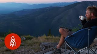 Download In Montana, a Solitary Life on Lookout Mountain Video