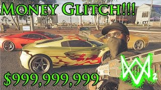Download Watch Dogs 2 Best unlimited Money Glitch/ Hack/ mod - Buy Super Cars, Clothes and more Video