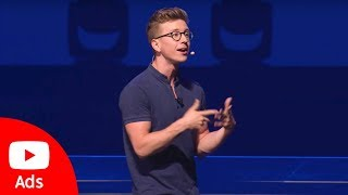 Download Brandcast 2018: Tyler Oakley, YouTube Creator | YouTube Advertisers Video