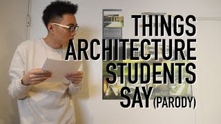 Download Things Architecture Students Say | RayARCH Video