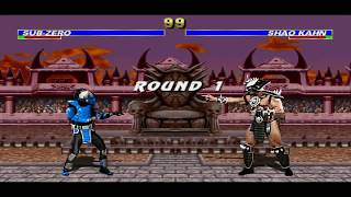 Download Mugen Mortal Kombat Trilogy Extended Gameplay Cyber Sub zero Video