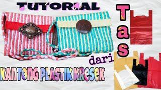 Download Tutorial   tas dari kantong plastik kresek   easy diy   Video