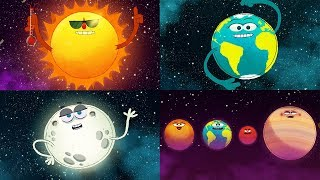 Download StoryBots Outer Space | Planets, Sun, Moon, Earth and Stars | Solar System Super Song | Fun Learning Video