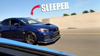 Download SLEEPER 800HP Subaru STI Vs. 800HP EVO X! ( Comparison ) Video