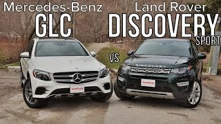 Download 2016 Mercedes-Benz GLC 300 vs 2016 Land Rover Discovery Sport Video