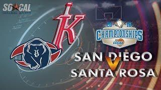 Download CCCAA Men's Basketball Quarterfinal: Santa Rosa vs San Diego City - 3/9/19 - 1pm Video