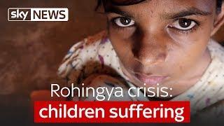 Download Rohingya crisis: children suffering Video