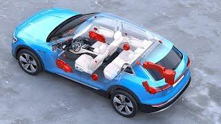 Download Audi etron Interior In Detail World Premiere Audi Electric SUV Interior Options Video CARJAM Video