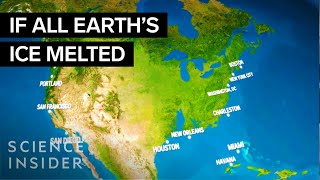 Download What the Earth would look like if all the ice melted Video
