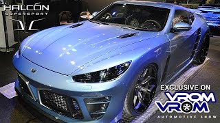 Download Halcon Supersport   Dubai Intl. Motor Show 2015 جناح الهالكون سوبرسبورت   معرض دبى الدولى للسيارات Video