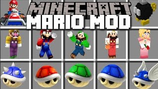 Download Minecraft MARIO MOD / TRAVEL TO THE MARIO DIMENSION AND FIGHT MONSTERS!! Minecraft Video