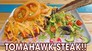 Download TOMAHAWK STEAK CHALLENGE IN BIRMINGHAM!! Video